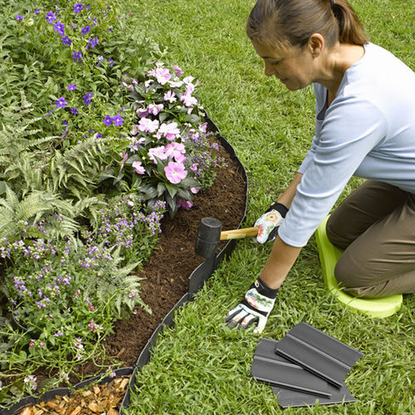 Service of Pound in edging by Professional landscaping services