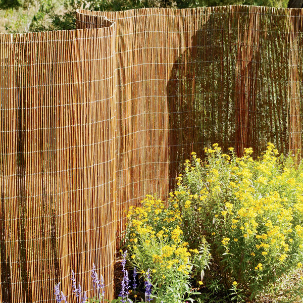 Willow Fencing by Professional landscaping services