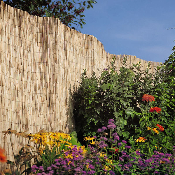 Reed Fences by Professional landscaping services