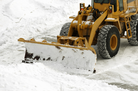 Snow clearing made by Professional Landscaping Services